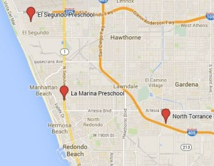 South Bay Preschool Locations